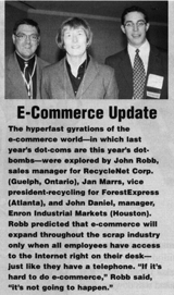 John Robb Quoted in November issue of Scrap Magazine